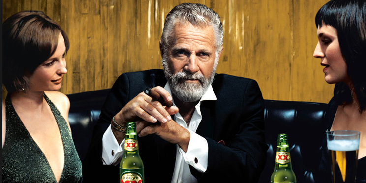 hollywood heroines vs the dos equis dude how the media promotes