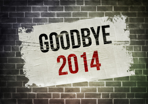 GOODBYE 2014 - poster concept
