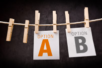 A or B as concept of choice