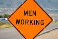 Vince men working