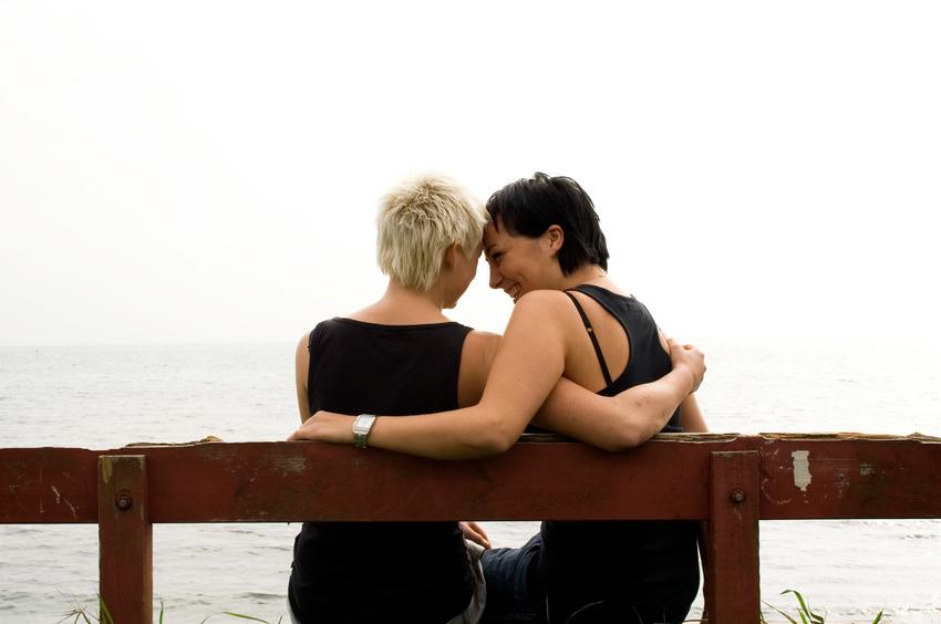 Late lesbian photo